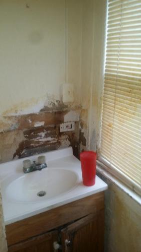Sink and Vanity Before